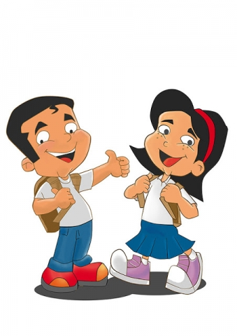 Mascotes no estilo cartoon