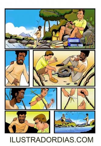 Página de comics