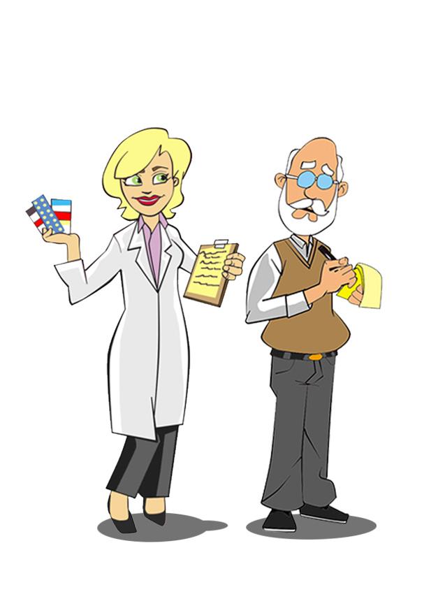 Criação de personagem para freela. Arte criada no lápis e finalizada no photoshop,no estilo cartoon