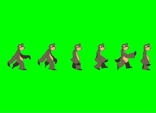 Animação do bicho preguiça