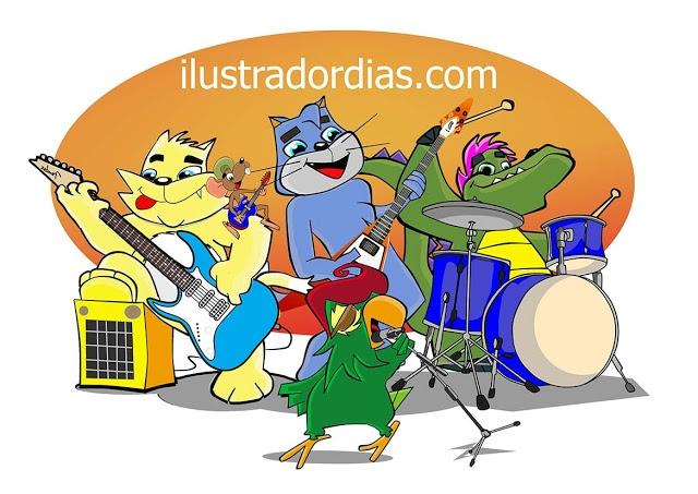 Banda de rock animal