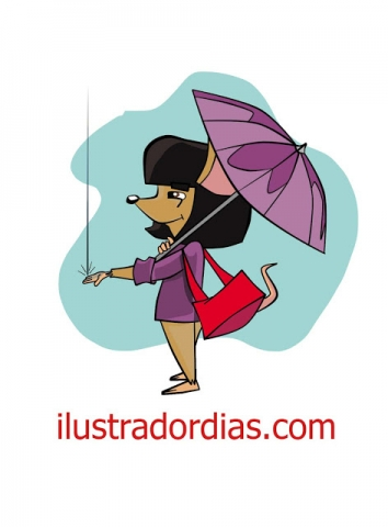 Criação de personagem para animação. Arte criada no lápis e finalizada no photoshop,no estilo cartoon