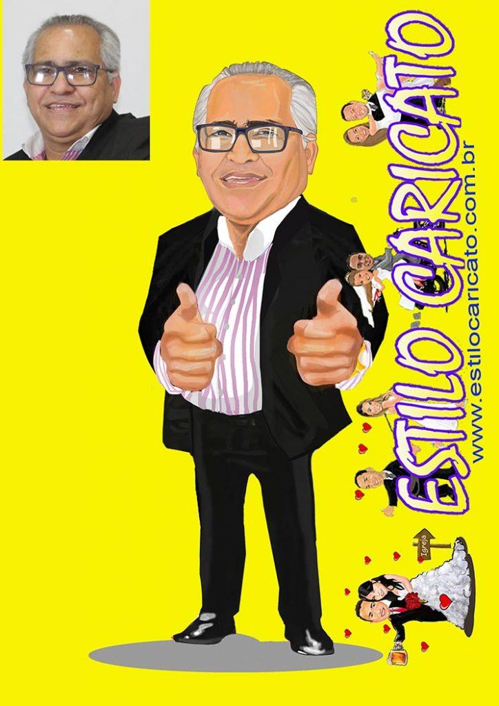 Ilustração para candidato